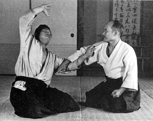Ueshiba Morihei - Shioda Gozo