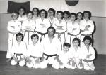 1970 - S.S. Monopoli Judo Roma, alla destra di Danilo Chierchini Sensei