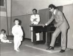 1971 - S.S. Monopoli Judo Roma, consegna cintura arancione