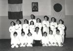 1978 - Dojo Centrale Roma - Foto di gruppo Corso Ragazzi - Con H. Hosokawa Sensei, secondo a destra in piedi