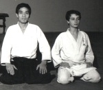 1979 - Dojo Centrale Roma - Con H. Hosokawa Sensei