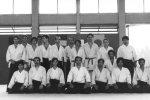 1982 - Stage Estivo Coverciano - Foto di gruppo Dojo Centrale di Roma  con Tada, Hosokawa, Fujimoto, Imazaki Sensei- 3 da sinistra in piedi