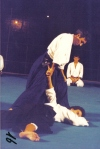 1985 - Tevere Expo' Roma - Uke per Roberto Candido Sensei