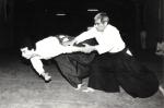 1985 - Dojo Centrale Roma - Uke per Hideki Hosokawa Sensei