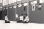 1985 - Coverciano - Consegna Diploma Shodan