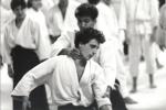 1986 - Palalido Milano - Uke per Moriteru Ueshiba Sensei