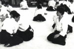 1987- Coverciano - Giocando con Yoji Fujimoto Sensei