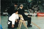 1989 - World Games in Karlsrue, Germany - con M. Fujita Sensei e Giorgio Veneri Sensei