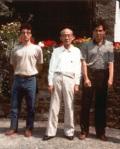 1989 - World Games in Karlsrue, Germany - con Doshu Kisshomaru Ueshiba e Yoji Fujimoto Sensei
