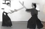 1997 - Sligo (IRL) - Katori Shinto Ryu con Eric Louw Sensei