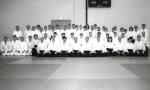 1997 - Maynooth (IRL) - Gruppo con Doshu Moriteru Ueshiba