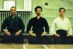 1998 - Stoke on Trent (ENG) - con Claudio Regoli Sensei