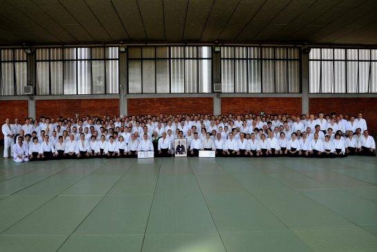 Seminario per il Quarantennale in Italia e il conseguimento dell'8° Dan