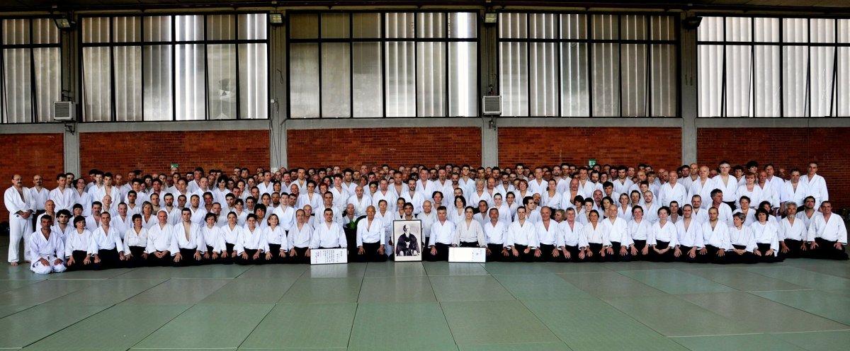 Stage dei 40 anni di insegnamento in Italia del Maestro Fujimoto e Festa del suo 8°Dan