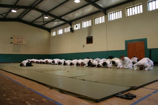 Il Saluto nell'Aikido