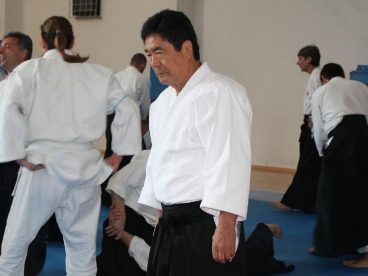 Motokage Kawamukai Sensei a Coriano (2011)