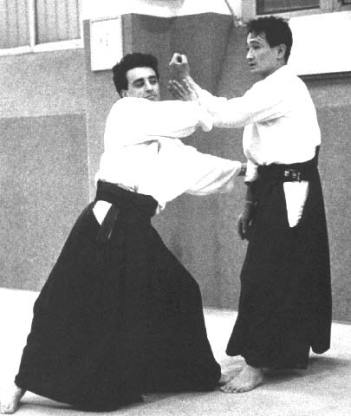 1989 - Aikikai Milano - Uke per Yokota Sensei