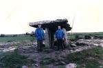 1998 - Poulnabrone Dolmen (IRL) - Con Giorgio Veneri Sensei
