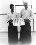1999 - Sligo, Irlanda - con Giorgio Veneri - Diploma 4 dan