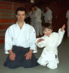 2001 - Galway (IRL) - Luke Chierchini (3 anni) inizia Aikido