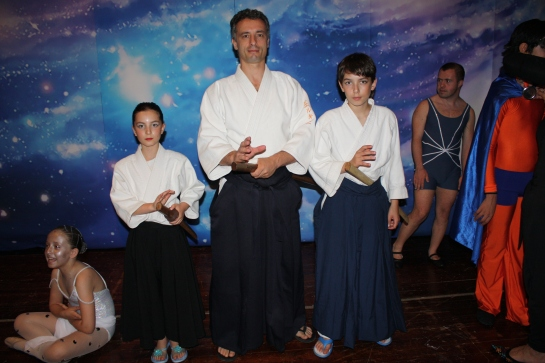 Dall'alto dei Cieli: un'Aiki-impressione con Lorena, Simone e Luke Chierchini