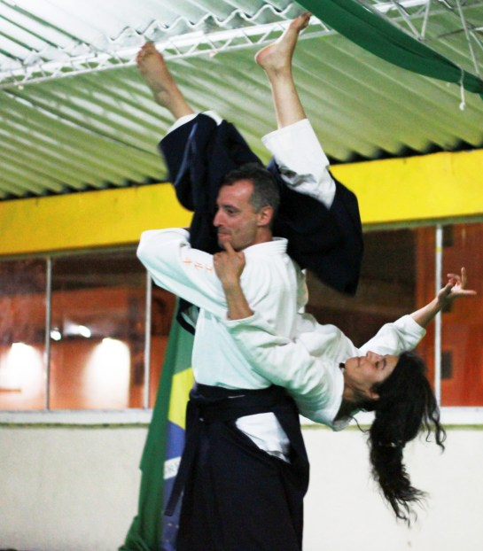 Simone Chierchini Sensei in Bogotà, Colombia (2010)