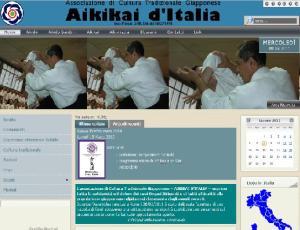 Il nuovo sito dell'Aikikai d'Italia