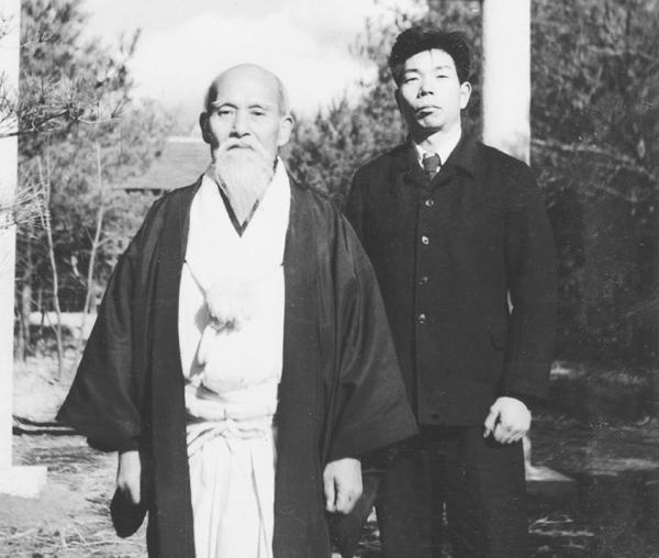 Ueshiba Morihei - Saito Morihiro 04