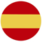 Spain Flag Button 60x60