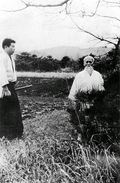 Ueshiba Morihei - Saito Morihiro 03