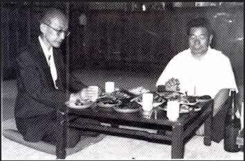 Ueshiba Kisshomaru - Saito Morihiro