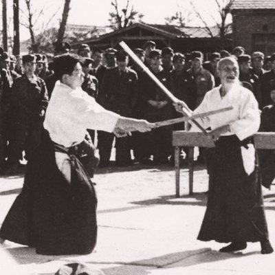 Ueshiba Morihei - Saito Morihiro 02