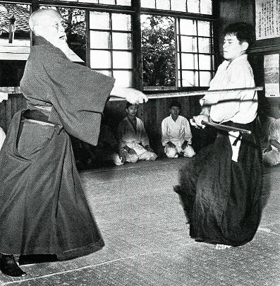Ueshiba Morihei - Tamura Nobuyoshi
