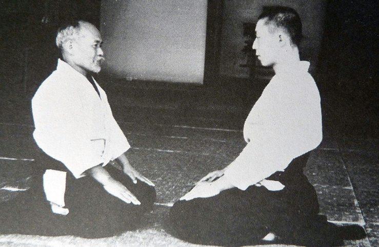Ueshiba Morihei - Ueshiba Kisshomaru