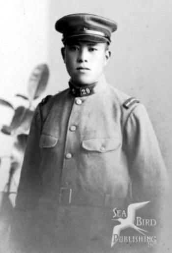 Morihiro Saito at young age