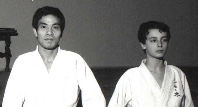 1979 Hosokawa Hideki & Simone all'età di 15 anni