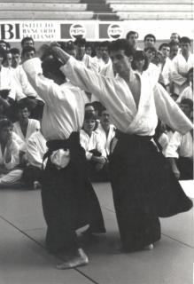1986 - Palalido Milano - with Akira Tohei