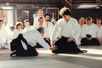1990 - Milano - with Seijuro Masuda