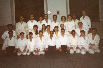 1993 - Milano - in his Milano Dojo with Hideki Hosokawa