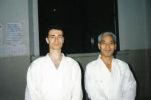 1993 - Milano - with Hideki Hosokawa