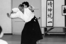 1997 - Maynooth, Ireland - with Moriteru Ueshiba