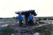 1998 - Poulnabrone Dolmen, Ireland - with Giorgio Veneri