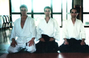 1998 - La Spezia - with Hiroshi Tada