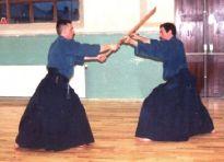 2000 - Sligo (Ireland) - Katori Shinto Ryu Seminar with Fabio Bardanzellu