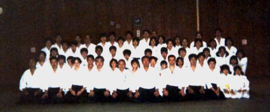 2001 - Tokyo (Japan) - with Jun Nomoto Shihan in his Tokyo Dojo