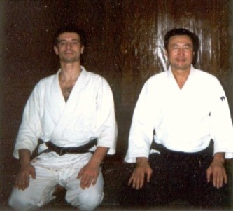 2001 - Tokyo (Japan) - with Jun Nomoto Shihan