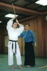 2001 - Kawasaki City, Japan - with Yakuhiro Sugino sensei