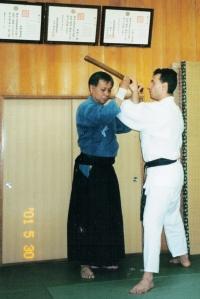 In Kawasaki City with Yakuhiro Sugino Sensei