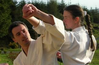2005 - Geevagh, Ireland - with Lara Natali