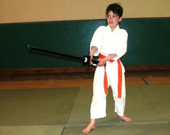 2006 - Sligo, Ireland - Luke, son 8 years old, 8th Kyu